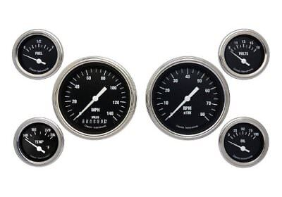 Classic Instruments Hr01Slf Hot Rod Series Gauge Set