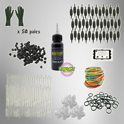 Tattoo Kit REFILL pack ESSENTIALS tattoo needles INK TKPAK3