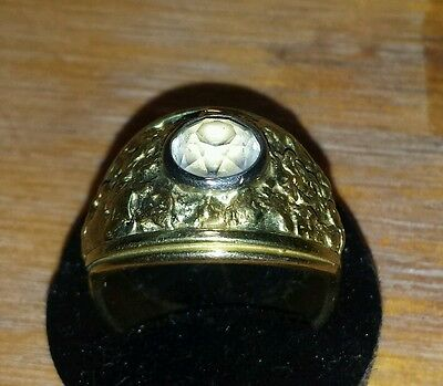 18 ct Handcrafted gold nugget ring  palmer river gold .