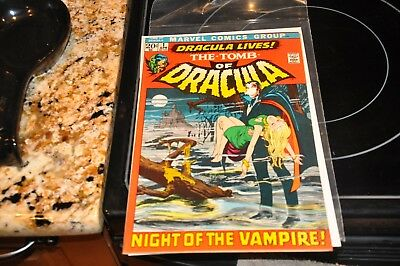 The Tomb of Dracula #1 (Oct 1972, Marvel)