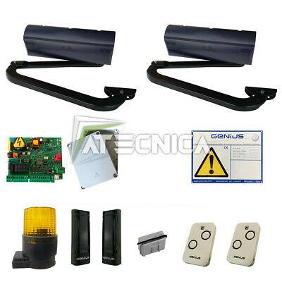 Complete Kit automation articulated arm FAAC GENIUS TRIGON 02 230V 6170150