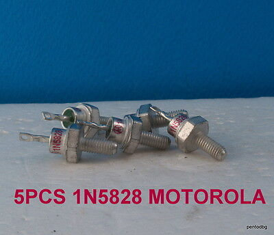 5Pcs Schottky Diode 40V 15A 1N5828 For Blocking Battery Discharge Solar Panel