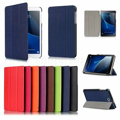 "Slim Leather Smart Case Cover Stand For Samsung Galaxy Tab A 8.0"" 10.1"" 10.5"" AU"