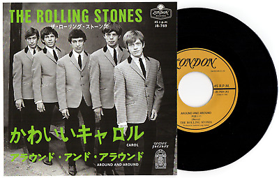 "THE ROLLING STONES - ""CAROL"" c/w ""AROUND & AROUND"" TOP QUALITY JAPANESE REISSUE"