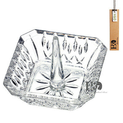 Crystal Earring Jewelry Ring Holder Jewelry Organizer Wedding Decor Lover Gift
