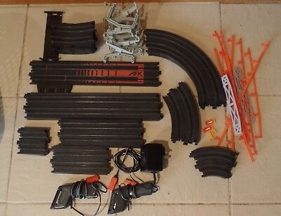 BULK Lot Aurora AFX SLOT CAR RACING TRACK, Contollers, Power Supply, Accessories
