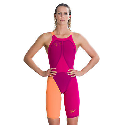 Speedo LZR Elite 2 Open Back Kneeskin Racing Suit. Speedo LZR Racesuits