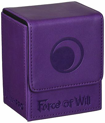 Force of Will Deck Box -Ultra Pro- Lila