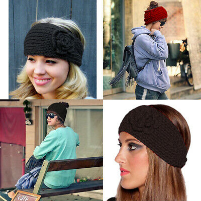 Men's Accessories Winter Warmer Ear Knitted Headband Turban For Lady Women Crochet Bow Wide Stretch Hairband Headwrap Hair Accessories Utmost In Convenience