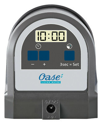 OASE 42720 FISHGUARD - Automatic Fish Feeder. 12 daily feeds, Aquarium Fish Food