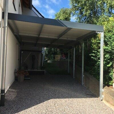 carport bausatz stahl mit sandwichplatten eur. Black Bedroom Furniture Sets. Home Design Ideas