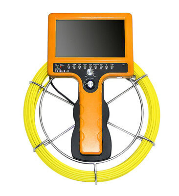Pipe Sewer inspection camera with 20 meter cable and video/photo recording