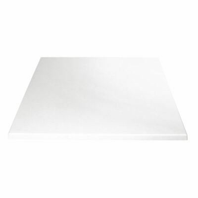 Bolero Square Table Top Pre Drilled Restaurants Cafe Bar Dining Furniture Wood