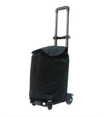 D35 Rugged Aluminium Luggage Trolley Hand Truck Folding Foldable Shopping Cart