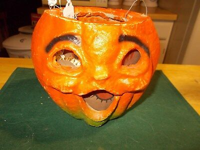 Lanterns vintage pre 1960 halloween holiday for Egg carton paper mache pulp