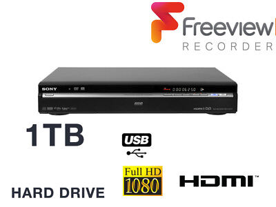 Sony RDR-HXD870 DVD RECORDER, *UPGRADED 1TB HDD HARD DRIVE*, FREEVIEW, HDMI, USB