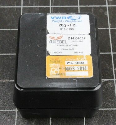 VWR Collection 20gram Calibration Weight, Class F2