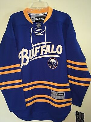 9c6318417 Buffalo Sabres 40th Anniversary NHL Jersey Adult Small NWT Official Licensed
