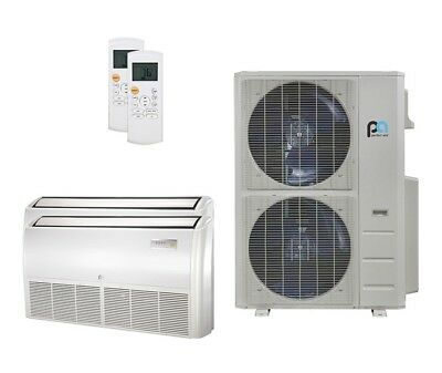 Perfect Aire 48K BTU 21.5SEER Dual Zone HeatPump Multi-Positional