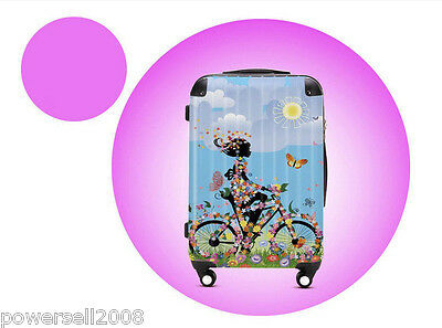"28"" Lovely Dream Girl Universal Wheel ABS+PC Pull Rod Box Luggage Box #17 LLX"