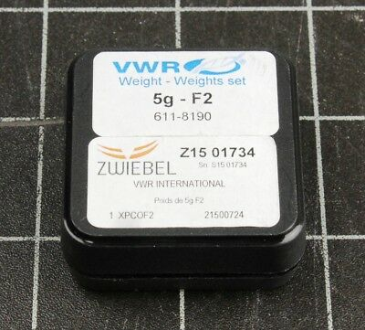 VWR Collection 5gram Calibration Weight, Class F2