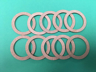 Lot of 10 John Deere A AR B BR D G GP H 60 Tractor Sediment Bowl Gasket C1778R