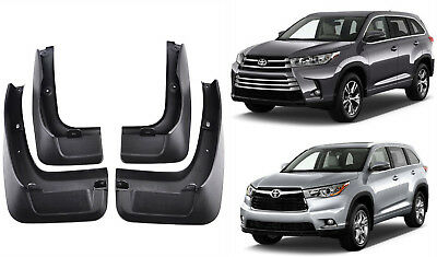 New Set Splash Guards Mud Guards Flaps PT34548140 FOR 15-2018 TOYOTA Highlander