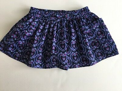 Just One You By Carter's Skirt Tutu Girls Toddler 18 Months Blue Purple Hearts