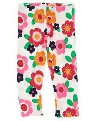 Gymboree NWT Ivory SMART LITTLE LADY FLORAL BOTTOM DRESS TIGHTS 4T 5T 4 5 Years