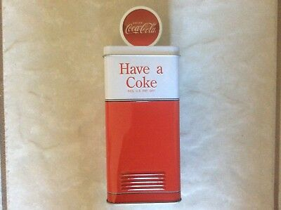 Coca - Cola Tin Vending  Machine  Piggy Bank