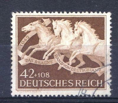 Germany 1942 Brown Ribbon Horse Race - Used - Cat £8.50 - (97)