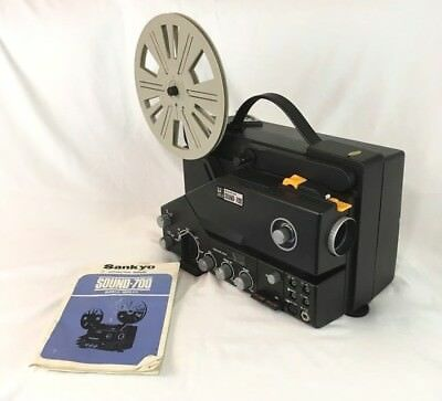 Rare Vintage Sankyo SOUND-700 Super 8 Movie Projector. Plays Sound And Dubs S8mm