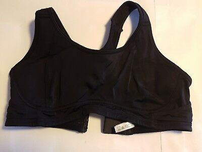 Denver Hayes Womens Sports Bra in Black Size Large (A04)