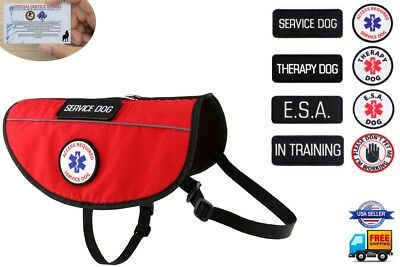 Service Dog - ESA Support Animal - Therapy Dog Harness K9 Vest ALL ACCESS CANINE