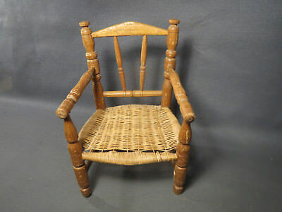 Old small chair chair doll wood vintage french antique
