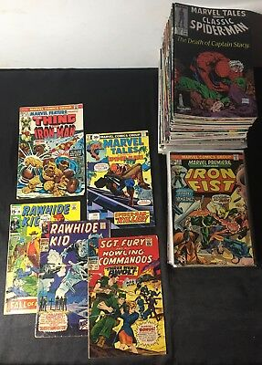 Lot-Over 130 Marvel  Variety of Comics Spider-Man Iron Man Fantastic Four & MORE