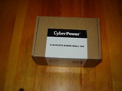 CyberPower 3-Outlets Surge Wall Tap