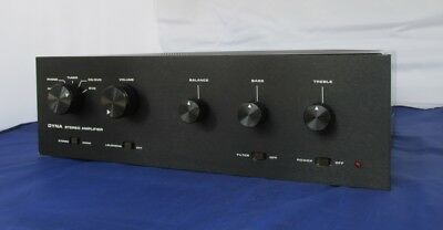 M0Dified Black Anodize Faceplates For Dynaco Sca Amp With No Tone Control