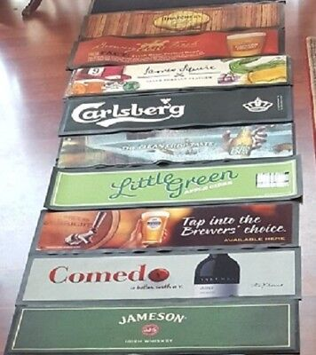 Bar Mats Rubber Backed Ex Pub Stock Collectable Usable or Display Pieces