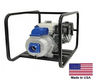 "TRASH PUMP Centrifugal Commercial - 4"" Ports - 32,400 GPH - 45 PSI  13 Hp Briggs"