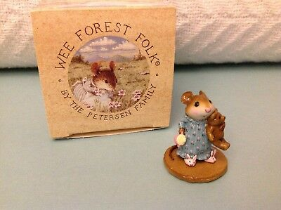 Wee Forest Folk M-218 Mousey's Bunny Slippers, new in box