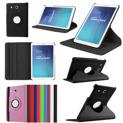 """Folio 360 Rotating Case Shockproof Stand Cover for Samsung Galaxy Tab 8.0"""" 10.1"""""""