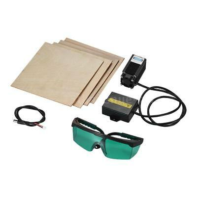 500mW Laser Engraving Module Wood Leather Cutting For Engraver Blue Violet P6N4
