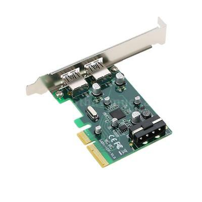 PCI-E to 2-Port USB3.1 Type A PCI Express Expansion Card USB 3.1 Hub A3R2