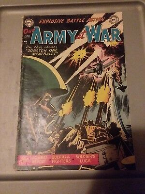 Dc Comics June 1953 Our Army At War #11