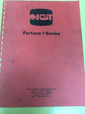 Igt - Fortune 1 - Video Manual - Pdf