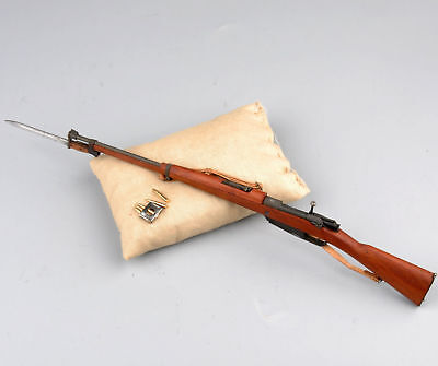 1/6 Scale New Type Brown Color Wooden Made Rifle Model F 12'' Action Figure