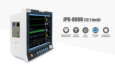 Jumper 12.1 inch Patient Monitor Pulse Rate Touch Screen