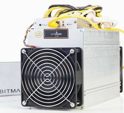 1 Tag Cloud Mining, Bitmain Antminer L3+ Scrypt-Miner 504 MH/s