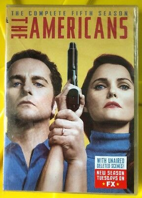The Americans Season 5 *In Stock*